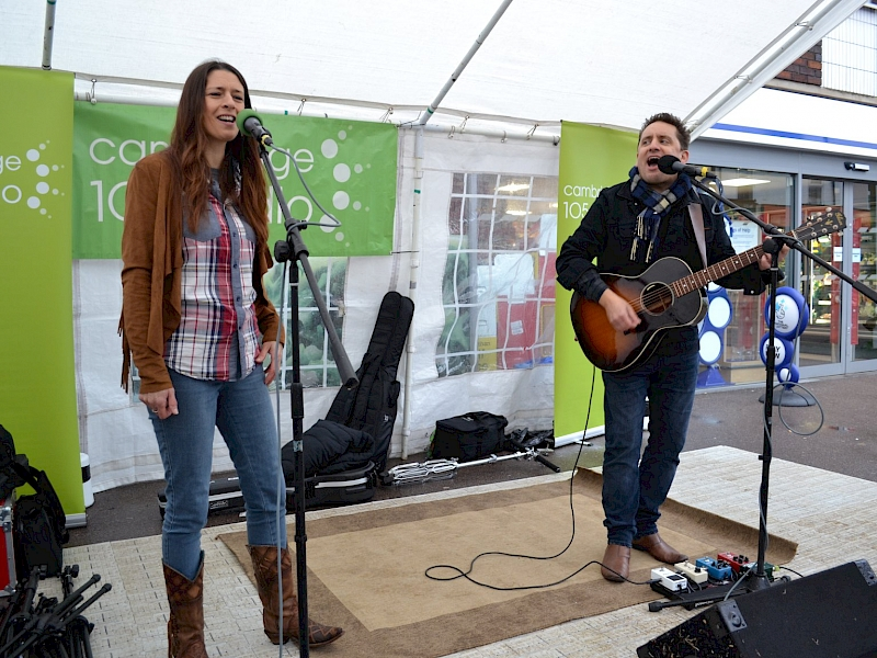 Image of Tennessee Twin at Mill Road Winter Festival - Cambridge 105 FM